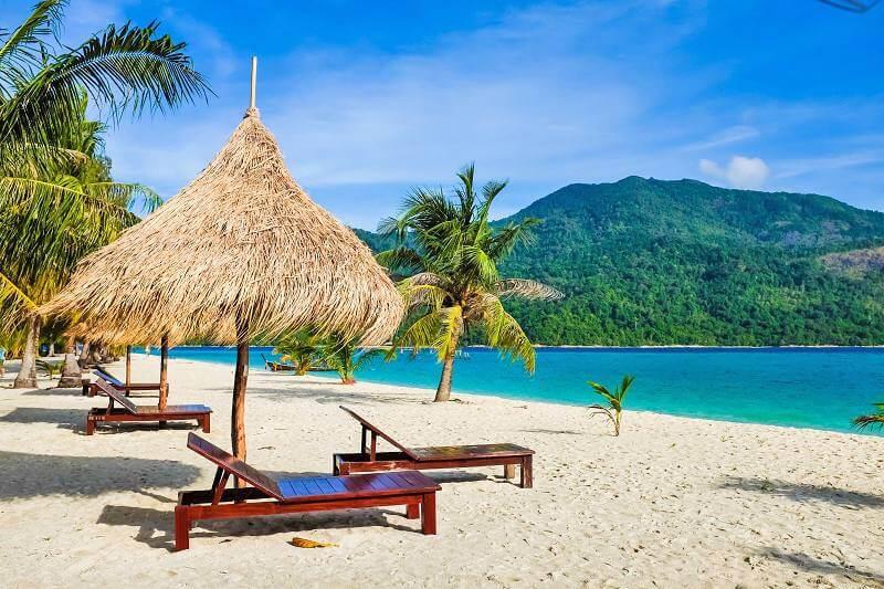 Playa paradisíaca en Cancún