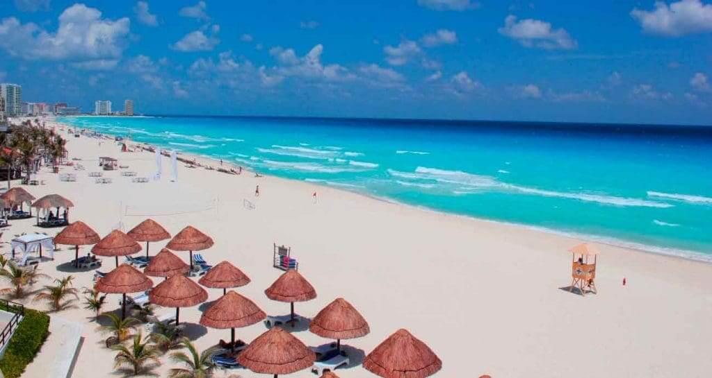 Playa Langosta en Cancún
