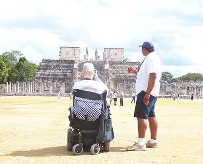 Discapacitados en Cancún