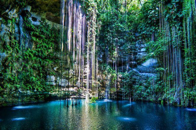 Cenote Ik Kil en Cancún
