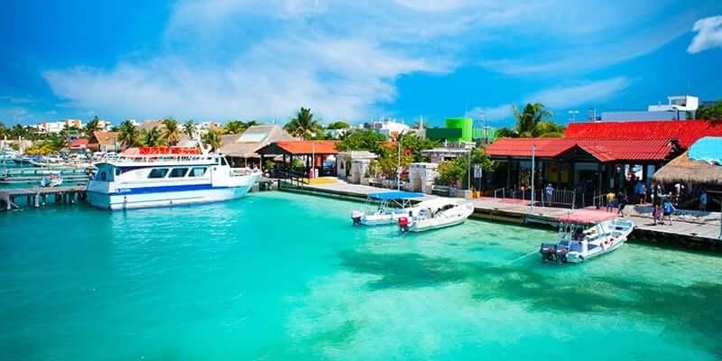 Paseo por Isla Mujeres en Cancún