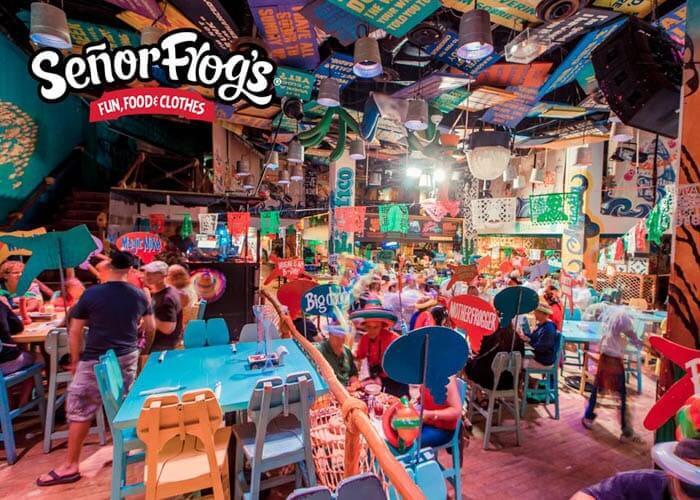Señor Frog's en Cancún
