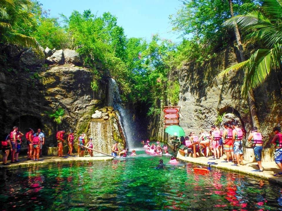 Principales atracciones del Parque Xcaret en Cancún: Paradise River