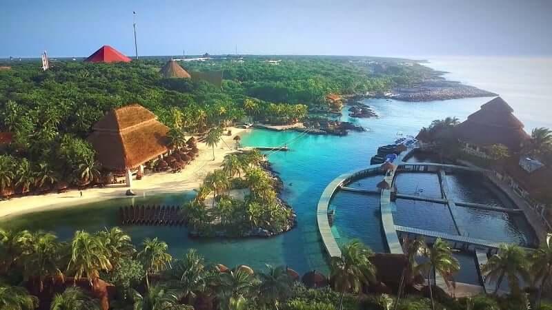 Espacio del Parque Xcaret en Cancún