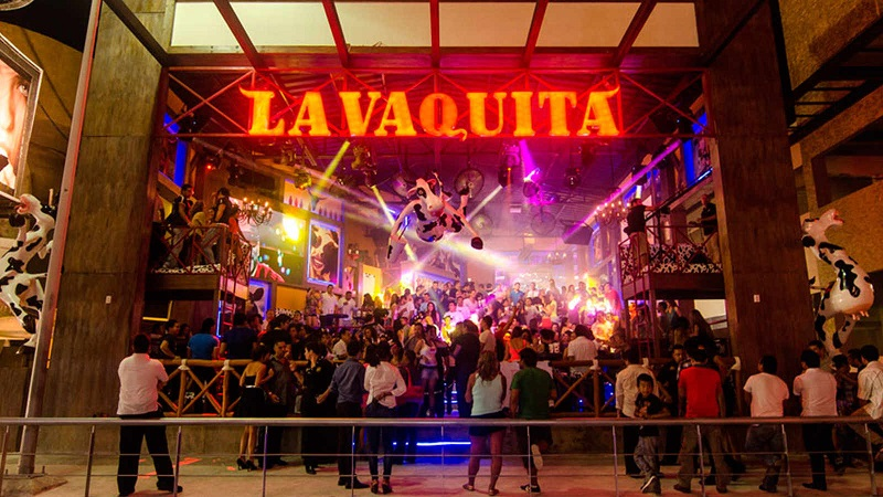 Bar La Vaquita en Año Nuevo en Cancún