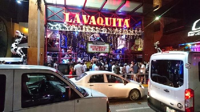 Bar y discoteca La Vaquita en Cancún