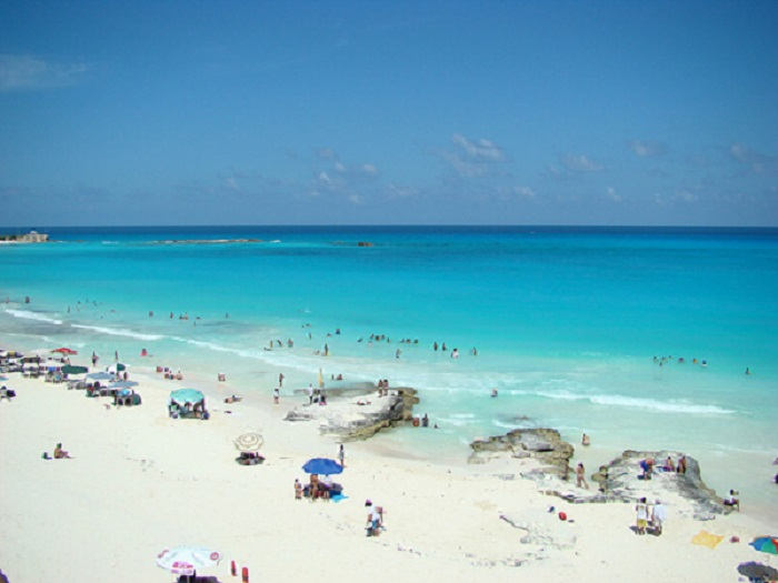 Playa Caracol en Cancún