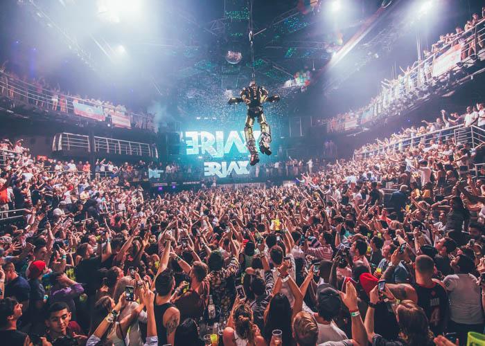 Fiestas en la discoteca The City en Cancún